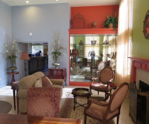 Bonanza Inn Yuba City - Lounge in our lobby at Bonanza