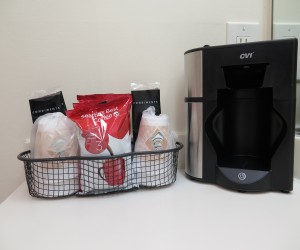 Coffee makers in room
